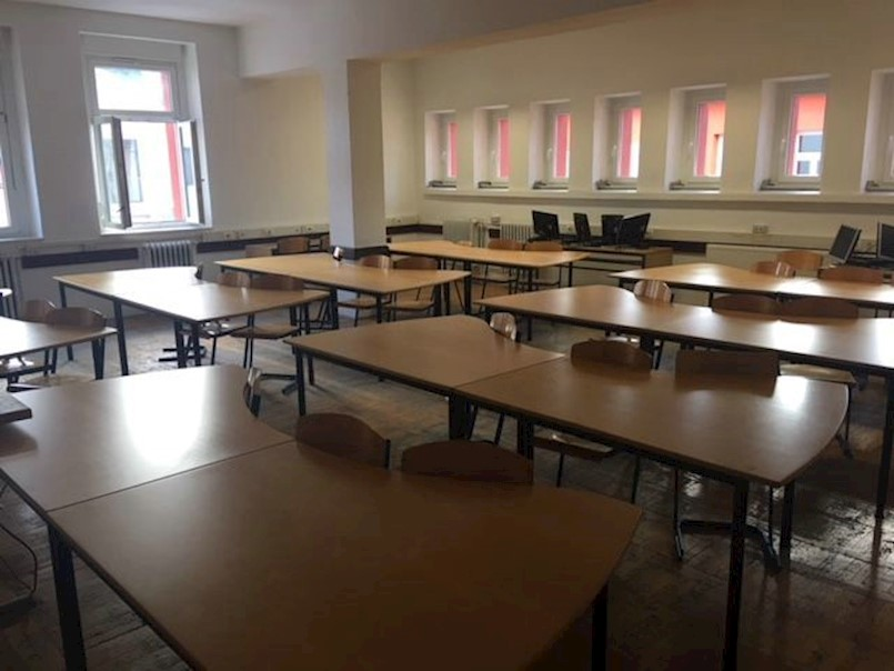 Srednja škola Mate Blažine: Povratak u adaptirane školske prostore od ponedjeljka 15. siječnja