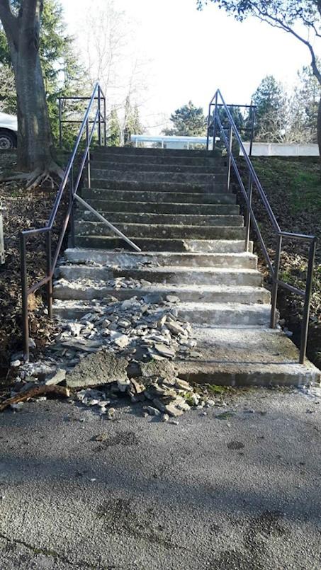 Izgrađena staza u Viletama, saniraju se stepenice na Katurama