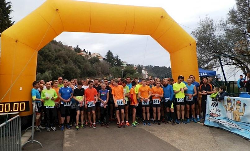 U nedjelju u Rapcu 6. kolo Istarske zimske lige u trčanju