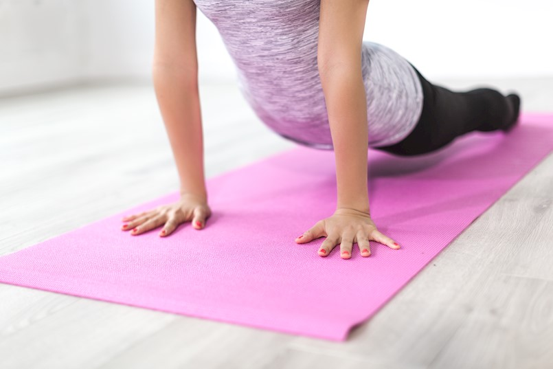 Početni stupanj vježbanja joge
