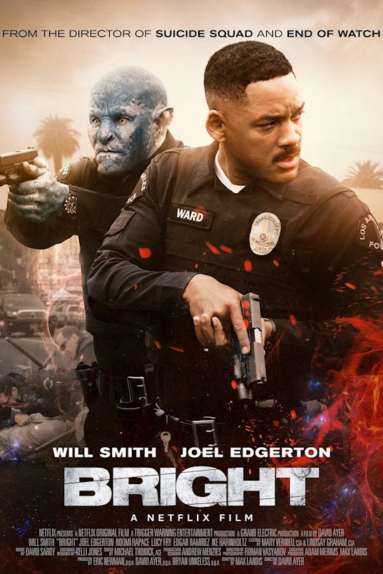Filmoteka:  Bright (2017)