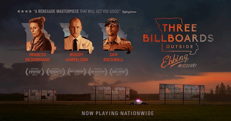 Filmoteka: Three Billboards Outside Ebbing, Missouri (2017)