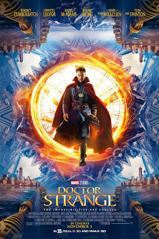 Filmoteka:  Doctor Strange (2016)