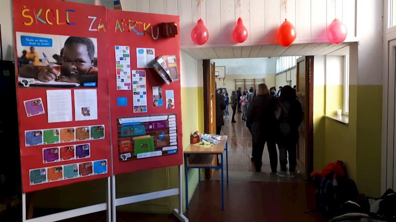 """UNICEFov projekt """"ŠKOLE ZA AFRIKU"""" u OŠ """"Ivo Lola Ribar"""""""