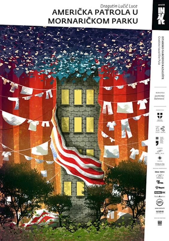 """Predstava """"Američka patrola u Mornaričkom parku"""" - Urbani identitet Pule 60-tih na pozornici Kina Labin"""