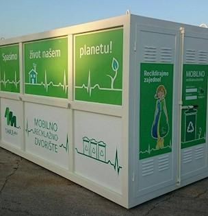 Raspored postavljanja mobilnog reciklažnog dvorišta za Grad Labin
