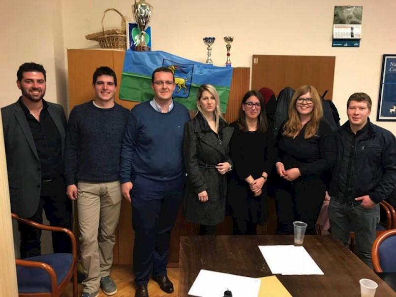 Nino Bažon novi predsjednik Kluba mladih IDS-a Labina