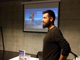 Nikola Horvat održao predavanje o 4300 km dugom Pacific Crest Trailu kojeg je proplaninario tijekom 2016. godine