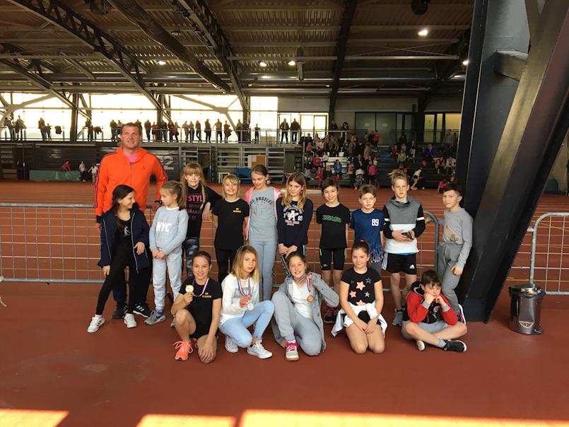 Zapaženi rezultati mladih atletičarki AK Albona na pojedinačnom prvenstvu dječje Kvarnerske lige u dvorani na Kantridi