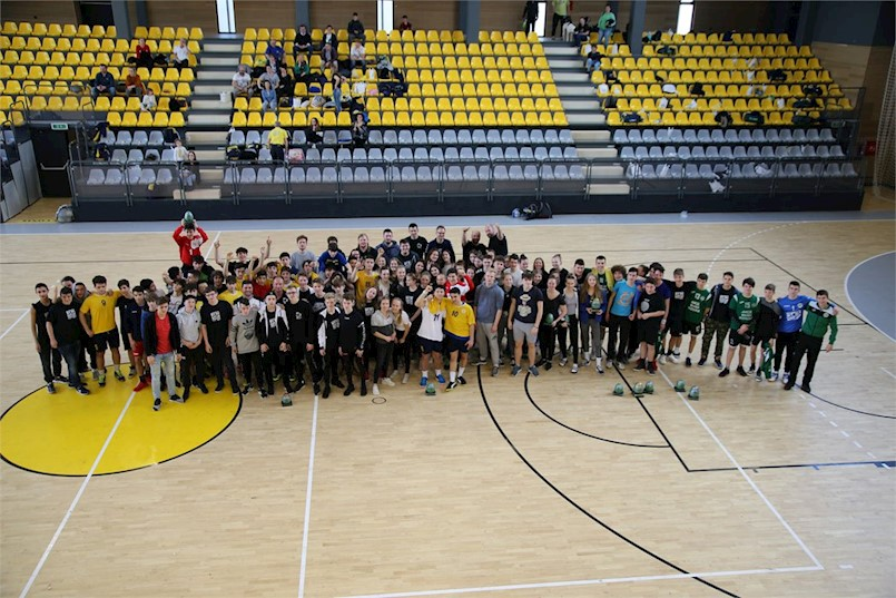 Održan 11. po redu Međunarodni rukometni Uskršnji turnir Labin 2018.