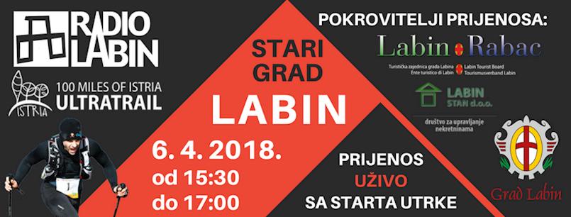 Utrka 100 milja Istre uživo na Radio Labinu!