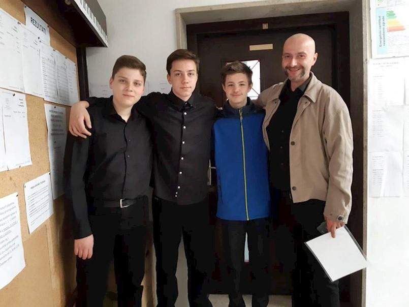 Violinski Trio Rašan osvojio treću nagradu na međunarodnom violinističkom natjecanju Poreč Fest