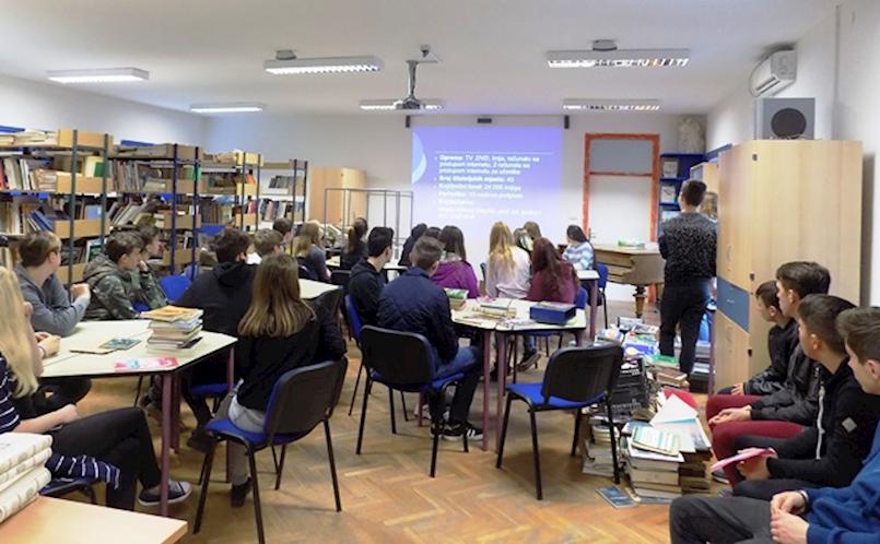 Započeli Dani otvorenih vrata Srednje škole Mate Blažine za učenike OŠ Labinštine