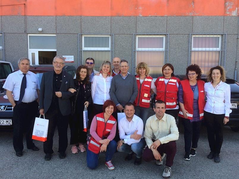 Posjet delegacije Španjolskog Crvenog križa Istarskoj županiji