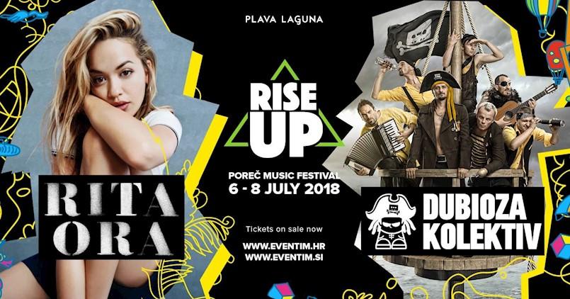 Na porečkoj Peškeri  od 6. do 8. srpnja Rise Up Festival - Rita Ora glavna zvijezda