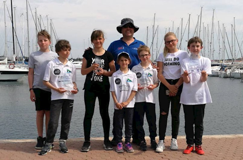 JK Kvarner sudjelovao na regati Mittel Europa Opti Race