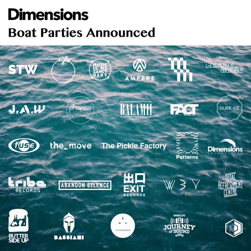 Objavljen red plovidbe Dimensions party brodova