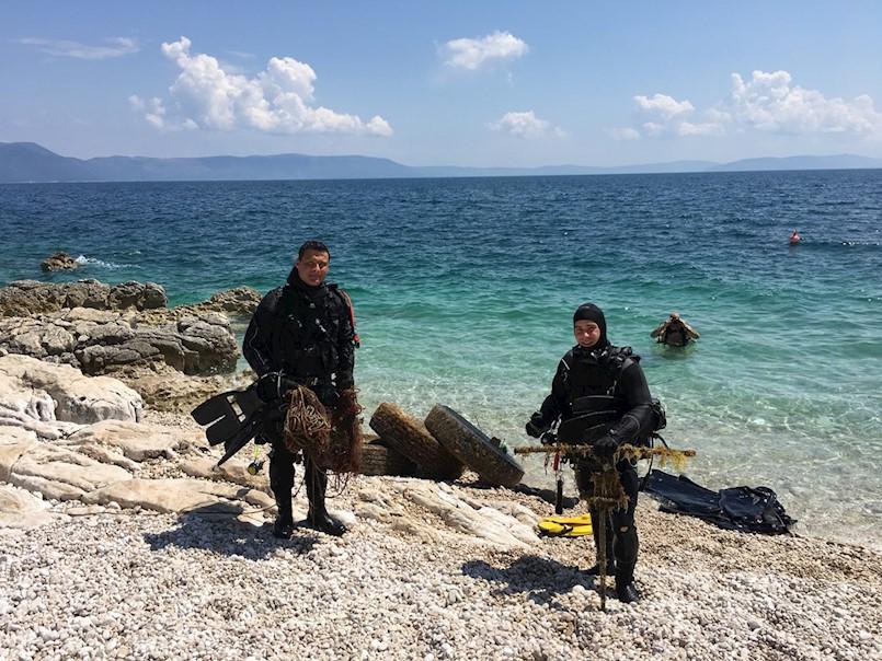 Rabačko podmorje čistili domaći i inozemni ronioci