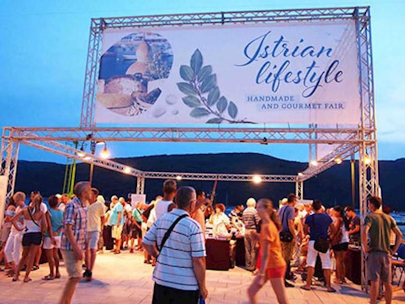 Istarski lifestyle - handmade & gourmet fair, Rabac, 15., 22. i 29. 6.