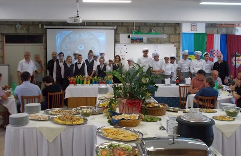 Održan GASTRO DOMJENAK 2018. - praktični dio završnog ispita za kuhare i konobare