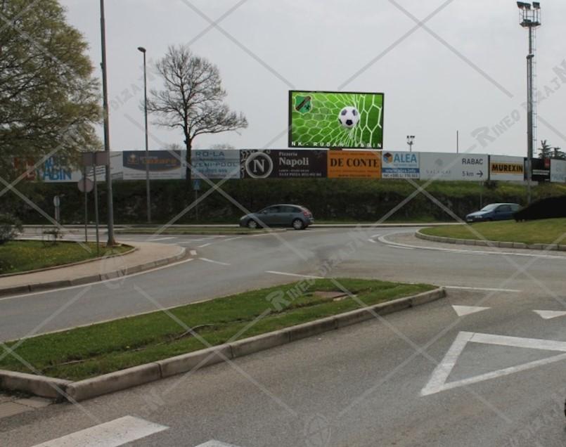 NK Rudar traži odobrenje Grada za postavljanje LED-display panoa s pogledom na kružni tok, vijećnica Tanja Pejić odgovara na zamolbu
