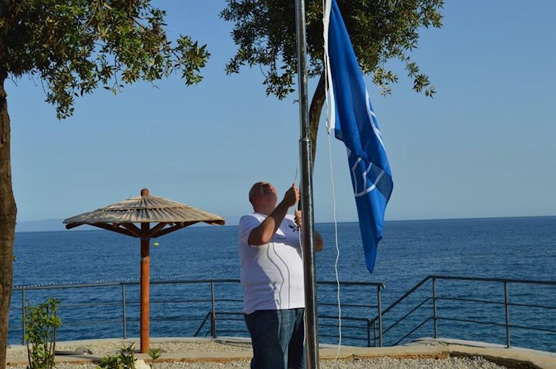 Talijanski karabinjer Fabrizio Zonca podigao Plavu zastavu