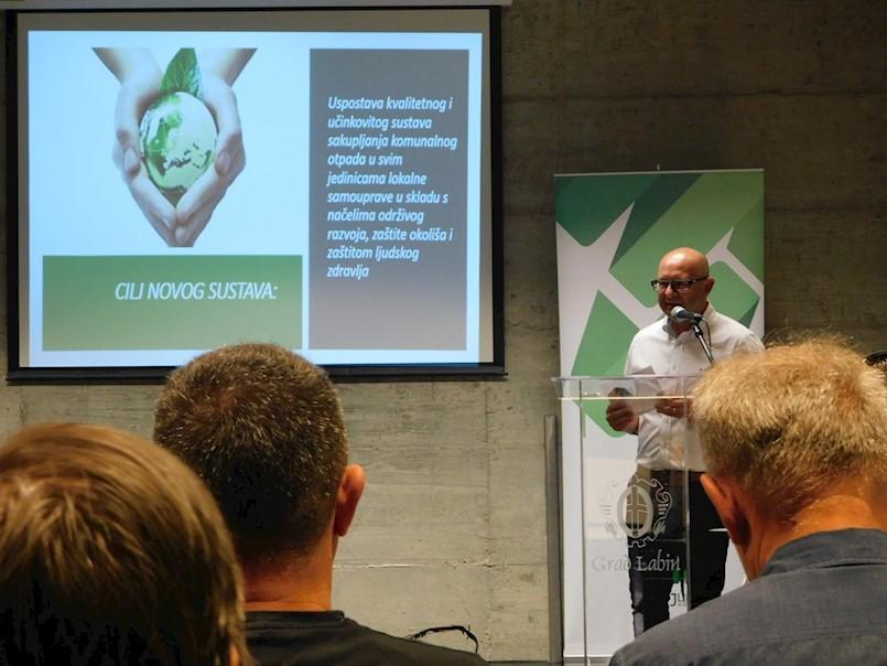 LABIN Održana prezentacija novog sustava gospodarenja otpadom