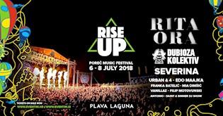 Poreč spreman za Rise up festival