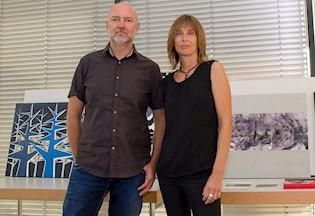 Ivona Verbanac i Elvis Berton sudjelovali na likovnom simpoziju u Austriji