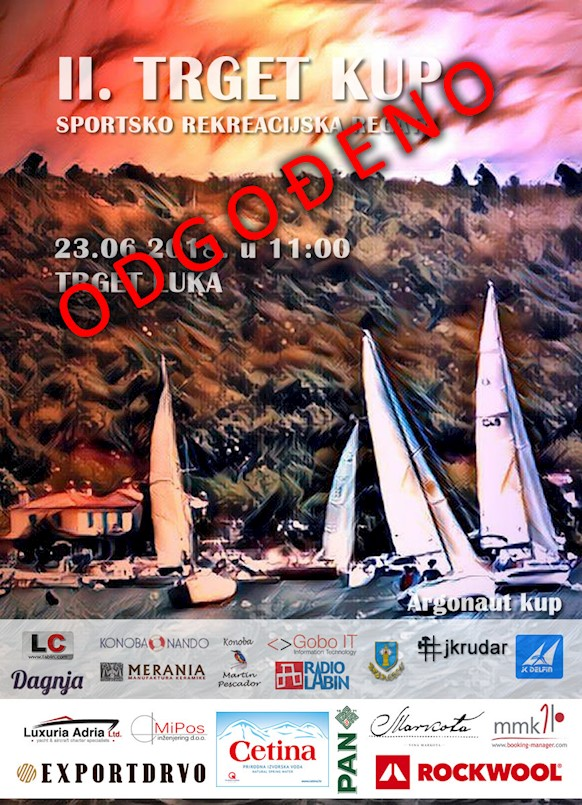 Zbog ekološkog incidenta u Raškom zaljevu odgođen sutrašnja regata 2. Trget kup