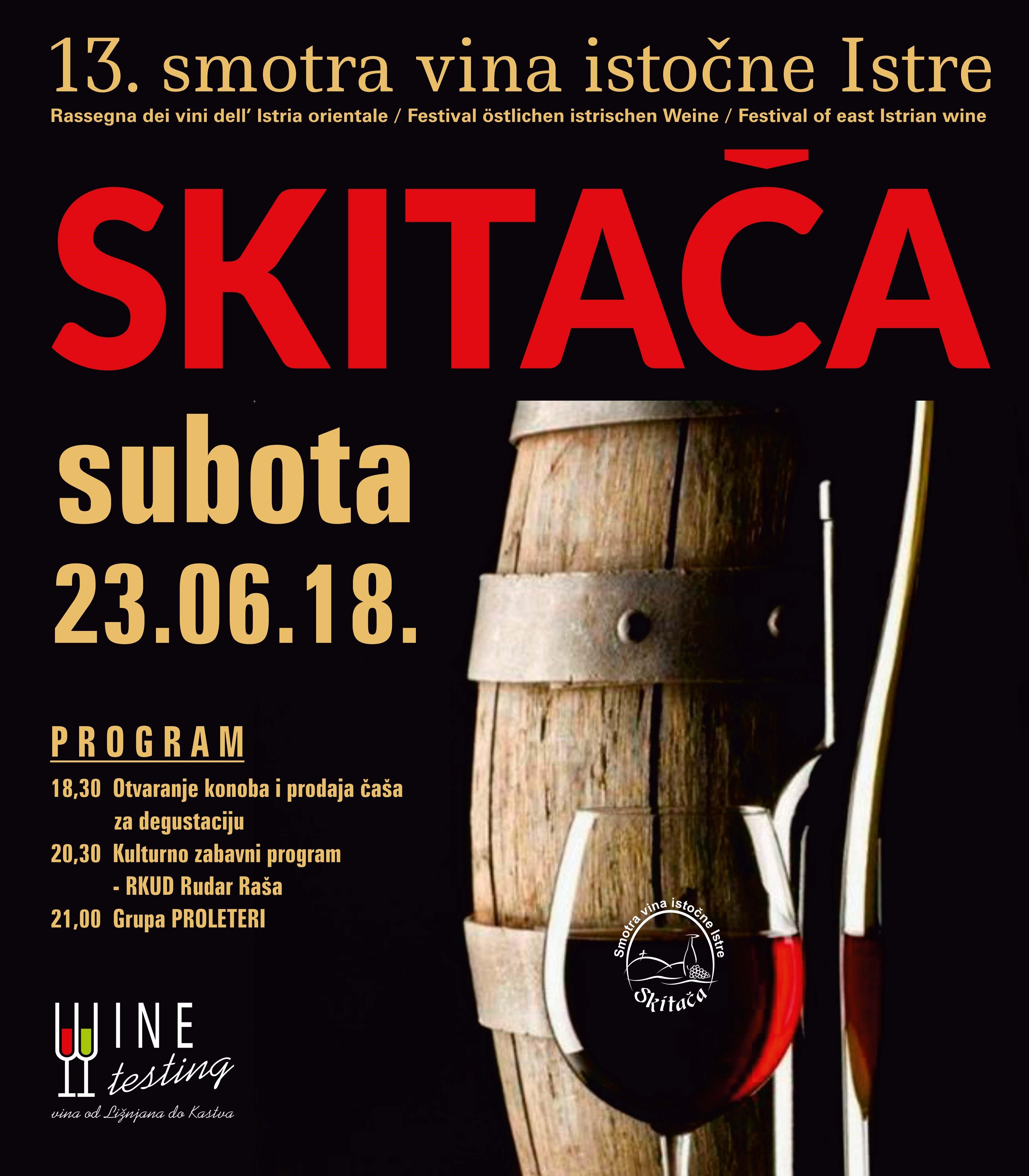 Smotra vina Skitača 2018.