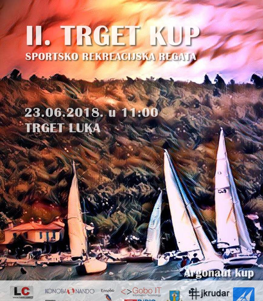 "Sportsko rekreacijska regata krstaša ""II TRGET KUP"""