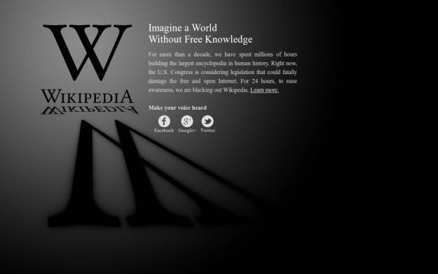 `Zamislite svijet bez slobodnog znanja` - Wikipedia zatvorila svoje stranice u znak prosvjeda