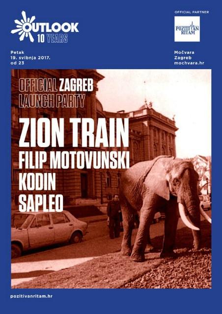 Zion Train i jaka domaća postava na zagrijavanju za 10. Outlook festival