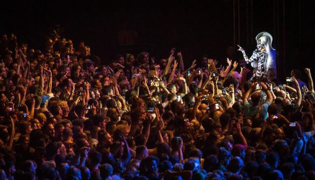 Velika Grace Jones i Moderat spektakularnim koncertom otvorili 6. Dimensions Festival