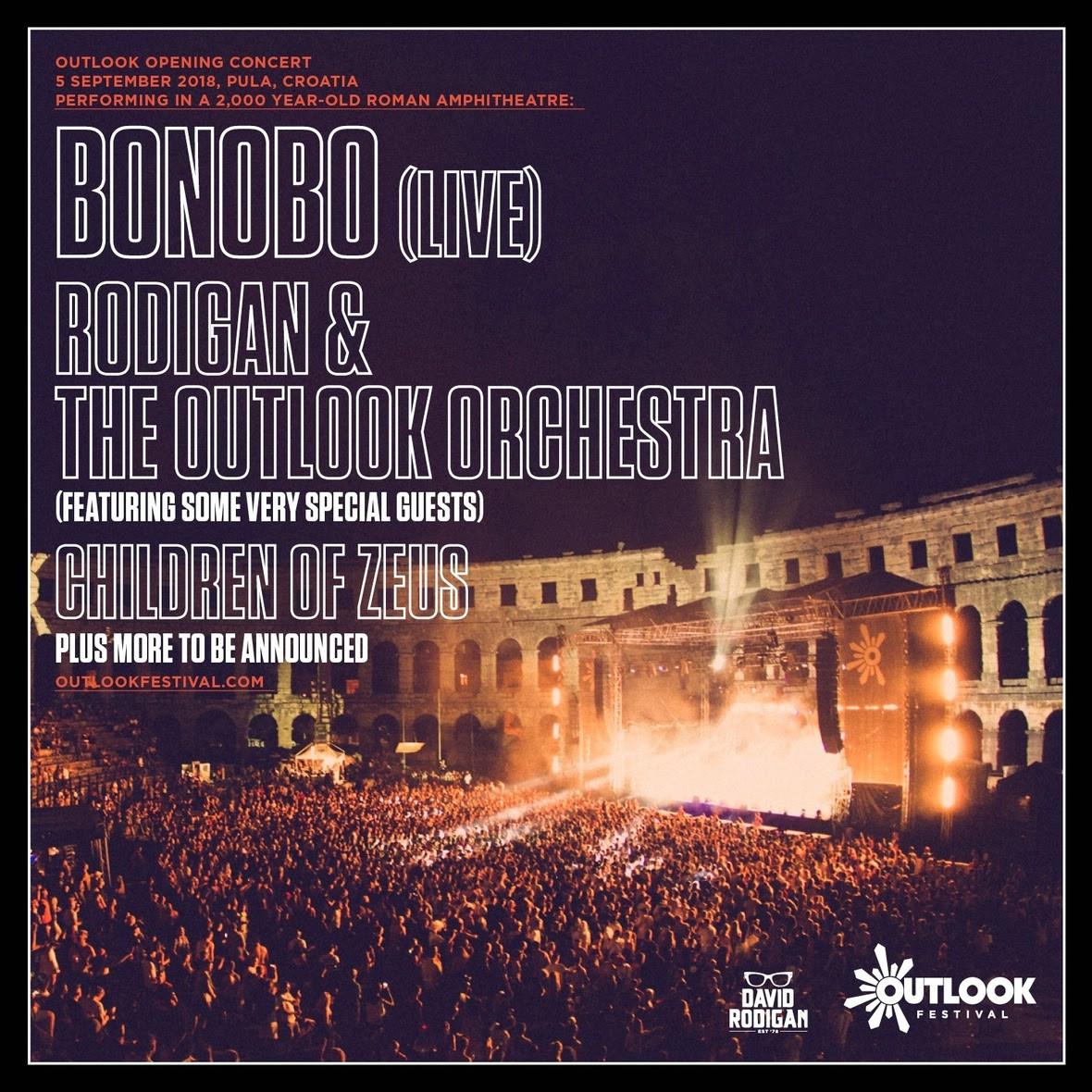 Bonobo, David Rodigan i Outlook Orkestar uvode nas u novo desetljeće Outlook festivala u pulskoj Areni