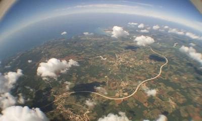 Od Višnjana do Kršana - kako izgleda Istra iz astronomskog balona