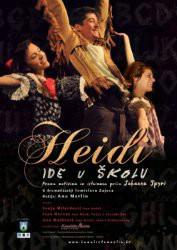 Zbog velikog interesa ponovno predstava `Heidi ide u školu` 1. 8. u 21 sat Kod Špine