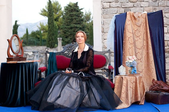 """Labin Art Republika poziva na posljednji ovogodišnji program- monodramu """"Klara Schumann""""  koju izvodi Ksenija Prohaska"""