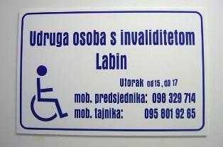 Predsjednik Udruge osoba s invaliditetom Denis Dundara ističe izvrsnu suradnju s Gradom Labinom