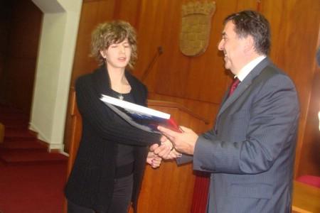 Prijem za nagrađene gradske stipendiste