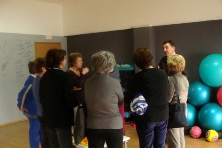 Gradonačelnik posjetio polaznice programa prevencije osteoporoze