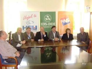 Albanska nacionalna zajednica podržava Flegu kao kandida za župana i Demetliku za labinskog gradonačelnika
