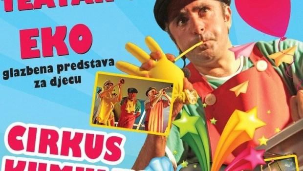 [OBAVIJEST] Dječja predstava `Cirkus Kulumbus` večeras se zbog najave lošeg vremena seli u Kino Labin