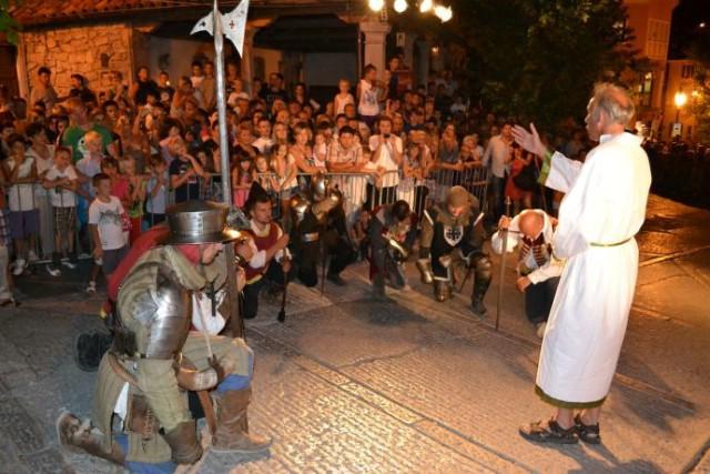 U četvrtak 31. srpnja povijesni spektakl u labinskom starom gradu Prikaz  povijesne bitke iz 1599. u sklopu `Uskočkih dana` u Labinu