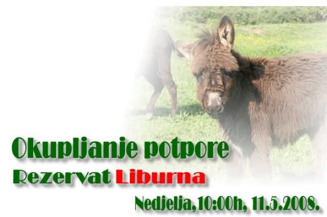 Građani Labinštine pozivaju svih na potporu uz druženje u rezervatu Liburna u Raši u nedjelju u 10 sati