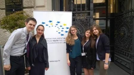 Članovi Gradskog vijeća mladih SŠMB sudjelovali na 26. nacionalnom zasjedanju Europskog parlament mladih