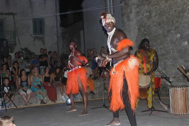 Senegalski glazbenici BAYE GOOR FALL nastupili na Labin Art Republici