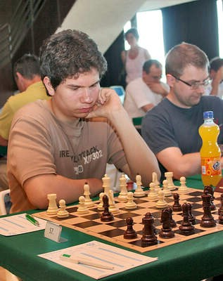 Tomislav Fabeta 11, na državnom pojeidnačnom prvenstvu u šahu