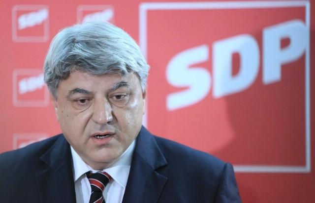 Kandidat za predsjednika SDP-a Zlatko Komadina večeras u Labinu